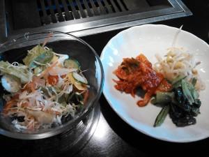 サラダ・キムチ・ナムル