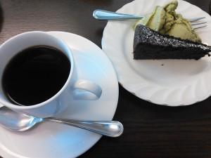 コーヒー、デザート